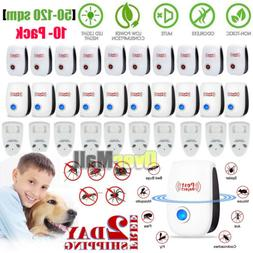 1 to10pc Ultrasonic Pest Repeller Electronic Indoor Plug in