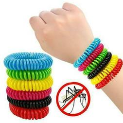 10 Pack Natural Mosquito Repellent Bracelet Bug Insect Prote