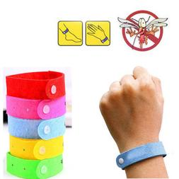10 Pcs/Set Repellent Repeller Insect Anti Mosquito Wristband