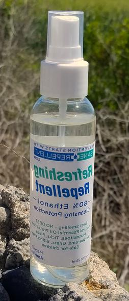 100 percent natural mosquito and insect repellent