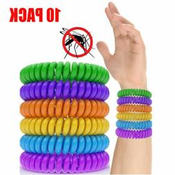 10Pack Mosquito Repellent Bracelet Anti Insect Natural Wrist