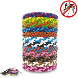 10PC Anti Mosquito Bracelet Camping Pest Insect Repellent Wa