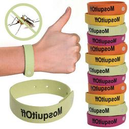12pk Kinven Bugs Lock Mosquito Repellent Wristbands Safe Nat