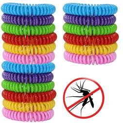 18 Pack Mosquito Repellent Bracelet Band Pest Control Insect