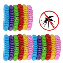 18 Pack Mosquito Repellent Bracelet Wristbands Pest Control