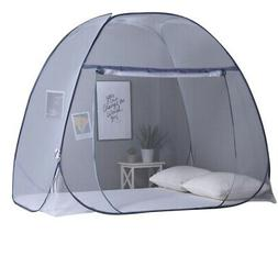 180cm Two-Part Mosquito Net, Foldable Mosquito Net, Polyeste