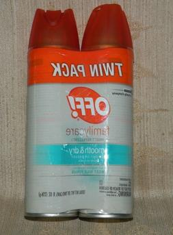 OFF! Familycare Smooth & Dry Dry Insect Repellent  4 oz. A