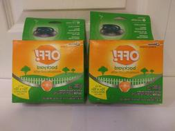 2 Pack Off Backyard Mosquito Coil Refills 6ct Box