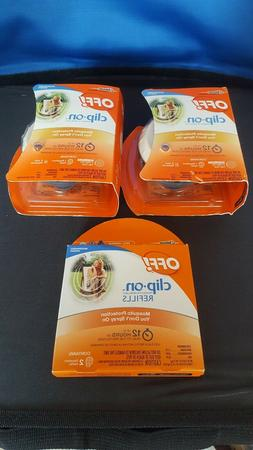 2 Pack OFF Clip On Mosquito Repellent Starter Kit Fan + 1pk
