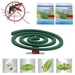 2 Pks Mosquito Repellent 8 Coils Outdoor Use Skin Protection