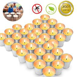 24xCitronella Candles Mosquito Insect Bug Repellent 15 Hour