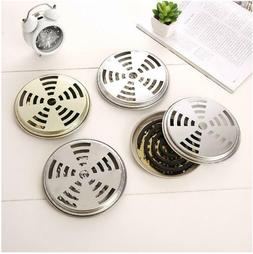 2PCMetal Iron Outdoor Mosquito Box Coil Holder Coil Repellen