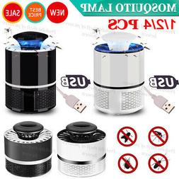 4 Safe Electric Mosquito Killer Lamp Indoor Fly Bug Insect Z