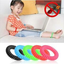 5/10 Pack Natural Mosquito Repellent Bracelet Bug Insect Pro