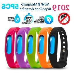 5X Anti Mosquito Insect Pest Bug Repellent Repeller Bracelet
