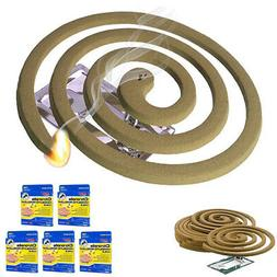 5PK Mosquito Repellent 20 Coils Outdoor Use Lasts 5-7 Hours