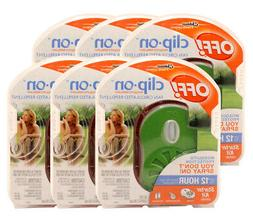 6 Pack Off! ClipOn Fan Circulated Mosquito Repellent Skin Pr
