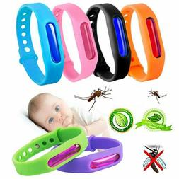 6 Pack Silicone Mosquito Repellent Bracelets Soft Band For K