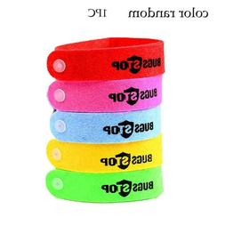 6 Pcs Bracelet Anti Mosquito Wristband Insect Bugs Repellent
