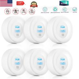 6 PCS Electronic Ultrasonic Pest Repellers Plug-In Repellent