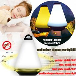 LED Light Wave Mosquito Repellent Lamp Waterproof Night Ligh