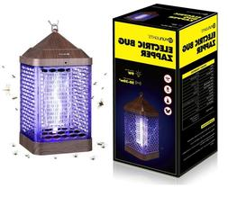 9W Bug Zapper Large LED Mosquito Killer Camping Lamp Pest Re