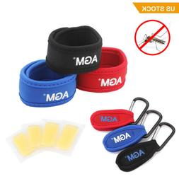 Anti Mosquito Bug Insect Repellent Bracelet Wrist Band & 4 R