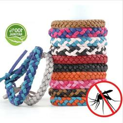 Anti Mosquito Bug Pest Repel Wrist Band Bracelet Insect Repe
