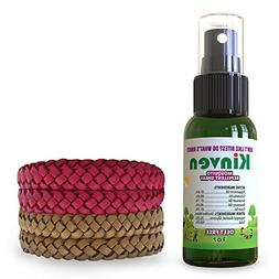 Kinven Anti Mosquito Repellant Bundle - Mosquito Spray, Repe