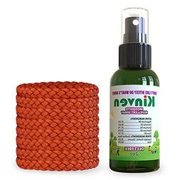 Kinven Anti Mosquito Repellent Bundle - Mosquitos Wristband
