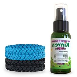 Kinven Anti Mosquitos Repellent Bundle - Mosquito Wristband