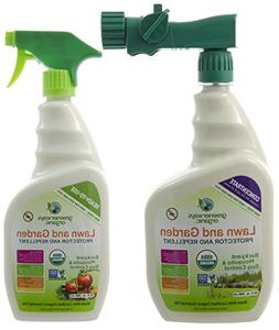 Greenerways Organic Backyard Insect Repellent, Mosquito Repe