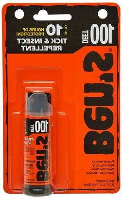 BenS 100% Deet Mosquito Tick And Insect Repellent 0.5 Ounce