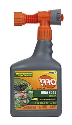 Off! Bug Control Yard Pretreat, Pack of 2 Spray Hose Connect