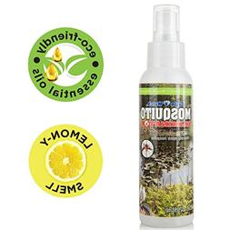 All Natural Bug Spray - Non-Toxic Mosquito & Insect Repellen