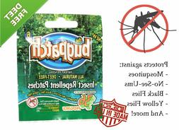 Bug Patch DEET FREE Insect Repellent Mosquito Flies 12 Count