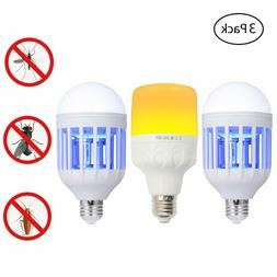 Bug Zapper Light Bulb  Mosquito Repellent LED Lamp Insect Re