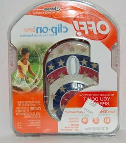 NEW Off! Off Clip On Fan Circulated Repellent Mosquito Repel