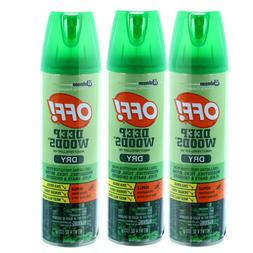 OFF Deep Woods DRY Insect Bug Mosquito Repellent Spray with