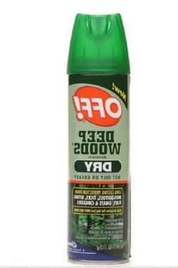 Off! Deep Woods Dry Insect Repellent VIII 4 oz cans