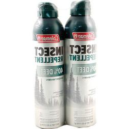 Coleman 40 Percent DEET Insect Repellent Twin Pack, 40%, 6 O