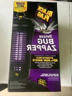 Black Flag 40W Deluxe Bug Zapper with Black Bulb
