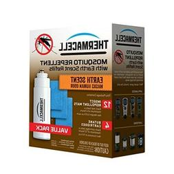 Thermacell E-4 Mosquito Repeller Refill with Earth Scent,