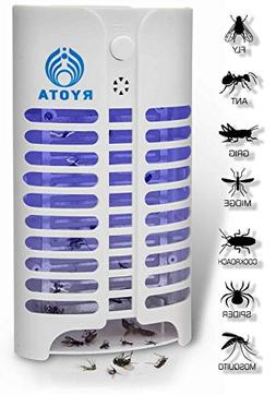 RYOTA Electric Bug Zapper with UV Light | Electronic Mosquit