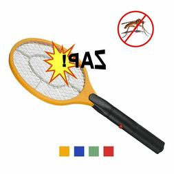 Electric Mosquito Swatter Anti Fly Repellent Bug Insect Repe