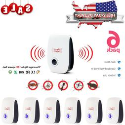5x Electronic Ultrasonic Pest Reject Mosquito Rat Rodent Mic
