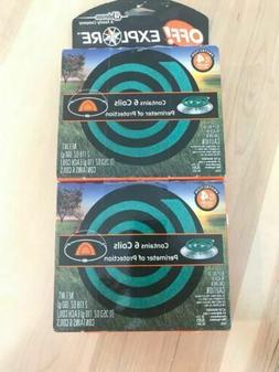 OFF! Explore Area Repellent Mosquito Coil Refills