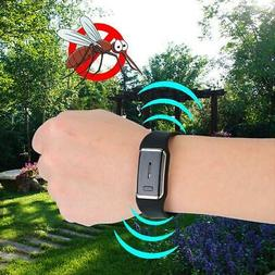 Fashion Ultrasonic Wristband Mosquito Repellent Rechargeable
