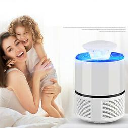Fly Bug Mosquito Killer Lamp USB Repellent Zapper Trap Indoo