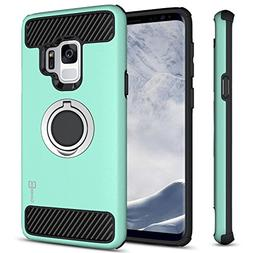 CoverON Galaxy S9 Ring Case, RingCase Series Protective Hybr